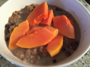 Buckwheat papaya